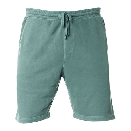 Pigment Dyed Shorts // Green (S)