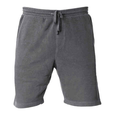 Pigment Dyed Shorts // Charcoal (S)