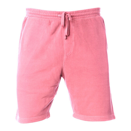 Pigment Dyed Shorts // Pink (S)