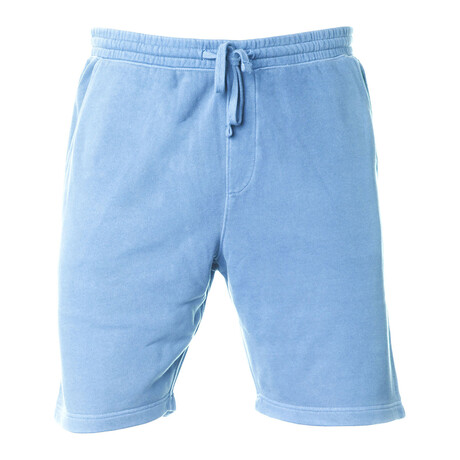 Pigment Dyed Shorts // Light Blue (S)
