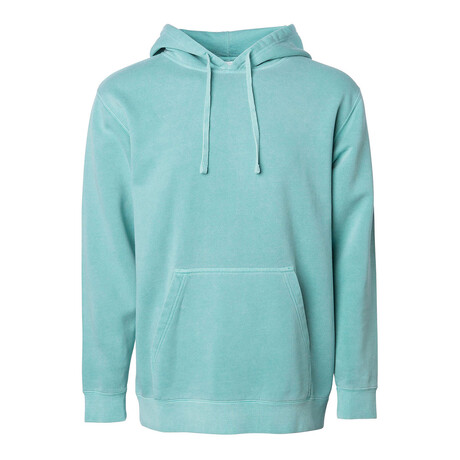 Pigment Dyed Hoodie/ Mint (S)