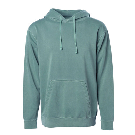 Pigment Dyed Hoodie // Green (S)