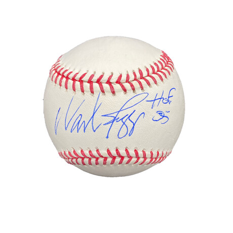 Wade Boggs // Signed Baseball + Inscription // Boston Red Sox
