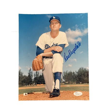 Don Drysadale // Signed // Los Angeles Dodgers