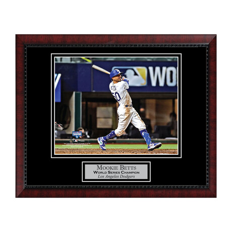 Mookie Betts // Framed + Unsigned // Los Angeles Dodgers