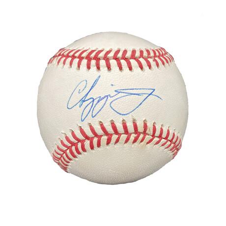 Chipper Jones // Signed Baseball // Atlanta Braves