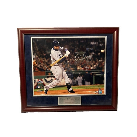 Evan Longoria // Framed + Signed // Tampa Bay Rays