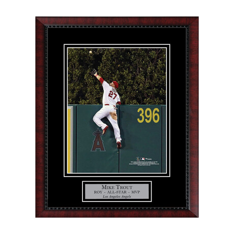 Mike Trout // Framed + Unsigned // Los Angeles Angels