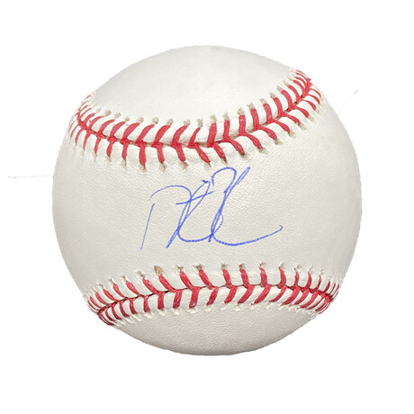 Dustin Pedroia // Signed Baseball // Boston Red Sox