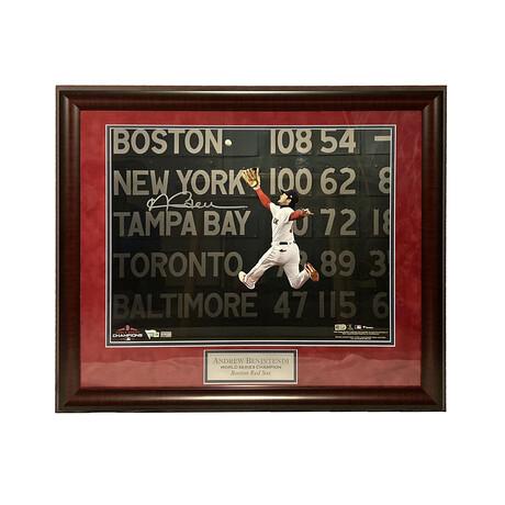 Andrew Benintendi // Framed + Signed // Boston Red Sox