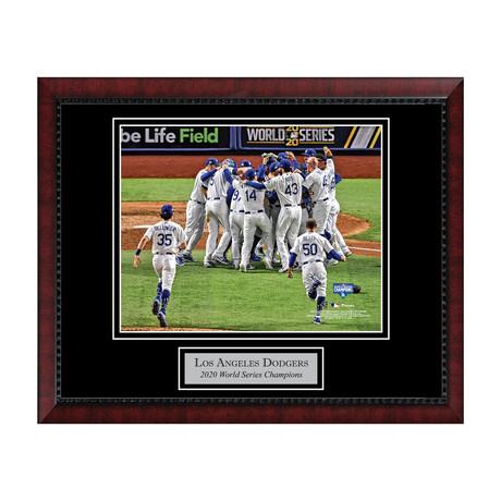 LA Dodgers World Series Celebration // Framed + Unsigned