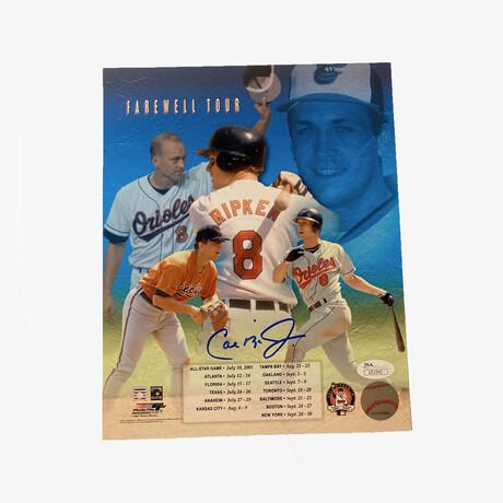 Cal Ripken Jr. // Signed // Baltimore Orioles