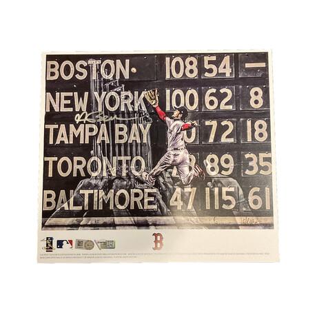 Andrew Benintendi // Signed // Boston Red Sox