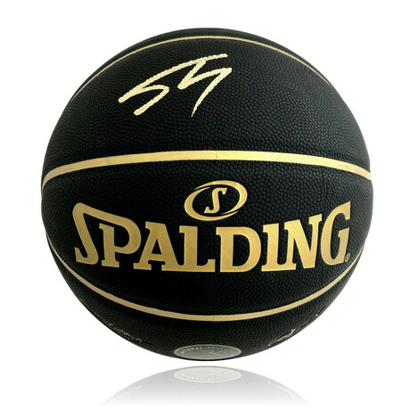 Shaquille O'Neal // Signed NBA Players Association Black Basketball