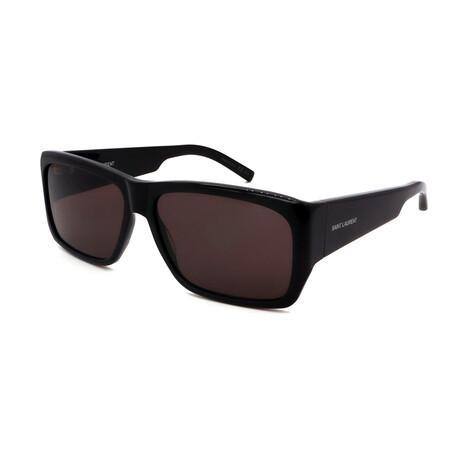 Yves Saint Laurent // Men's SL366LENNY-001-60 Sunglasses // Black