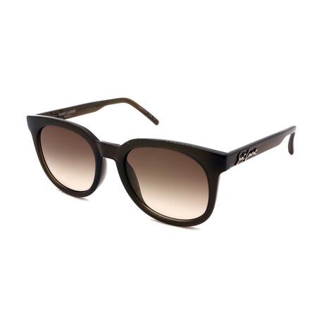 Unisex SL405-004-54 Sunglasses // Havana