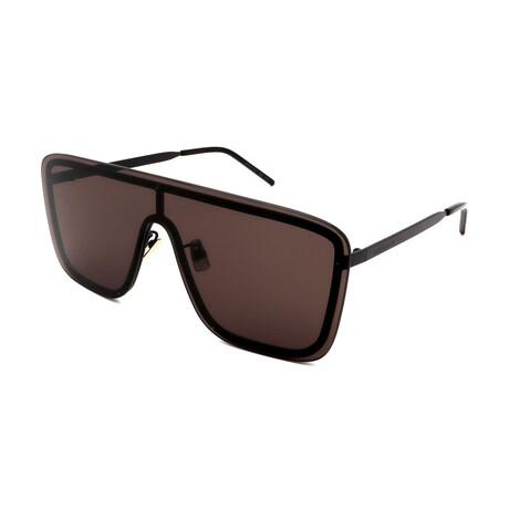 Yves Saint Laurent // Unisex SL364MASK-002 Sunglasses // Black