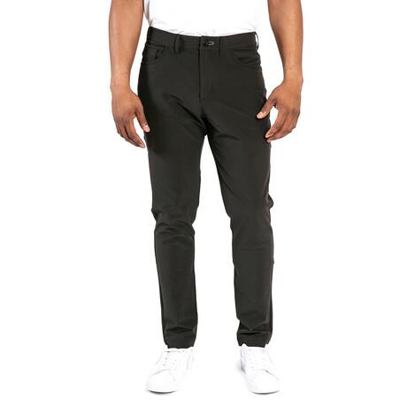Workday Slim Pant // Black (28WX30L)