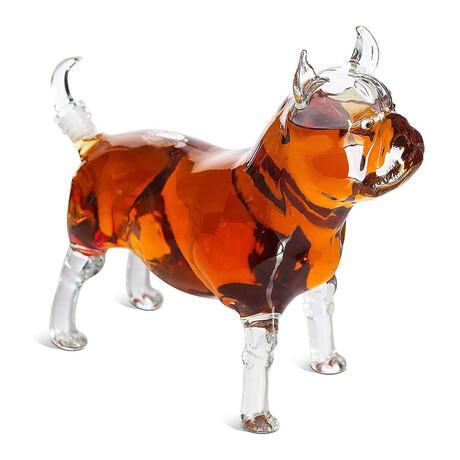 Pug Whiskey Decanter