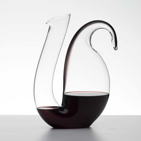 Ayam Decanter // 60 oz // Black Stripe