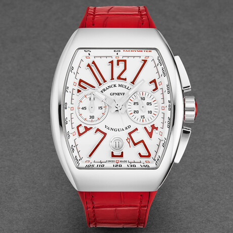 Franck Muller  Vanguard Automatic // 45CCWHTRED // New