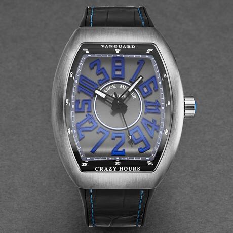 Franck Muller Vanguard Crazy Hours Automatic // 45CHTTBRBLSIL