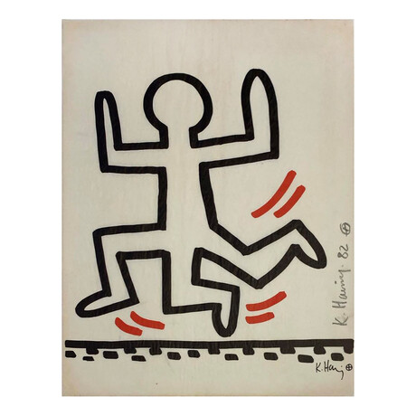 Keith Haring // Bayer Suite #6 // 1982