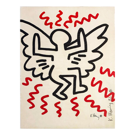 Keith Haring // Bayer Suite #3 // 1982