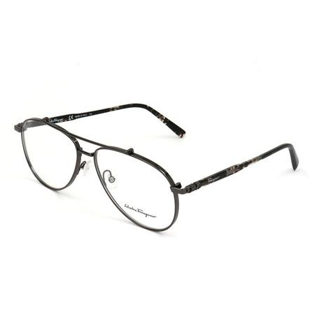 Men's SF2184 Optical Frames // Shiny Dark Ruthenium