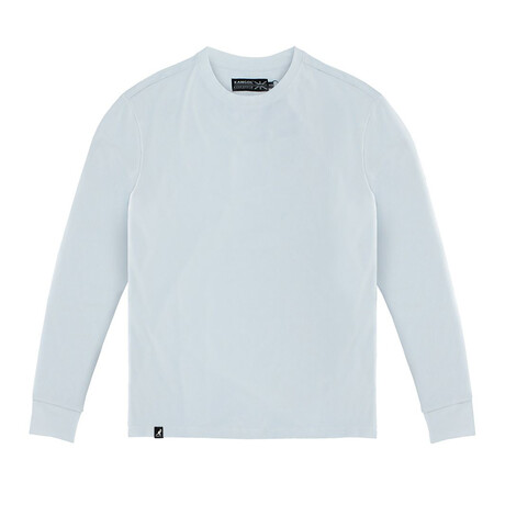 Buttery Soft Long Sleeve Tee // White (S)