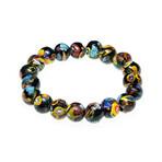 Dell Arte // Malifiorre Glass Bracelet // Multicolor