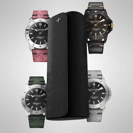 Meccaniche Veneziane Arsenale // 4 Watches + 1 Watch Roll
