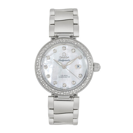 Omega Ladies De Ville Ladymatic Automatic // 425.35.34.20.55.002 // Store Display