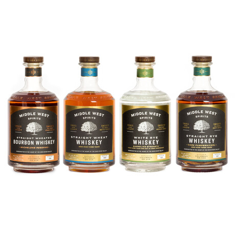 Middle West Complete Collection // Set of 4 // 750 ml Each