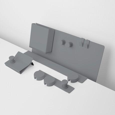 The Rack Series Bundle // Cement Gray
