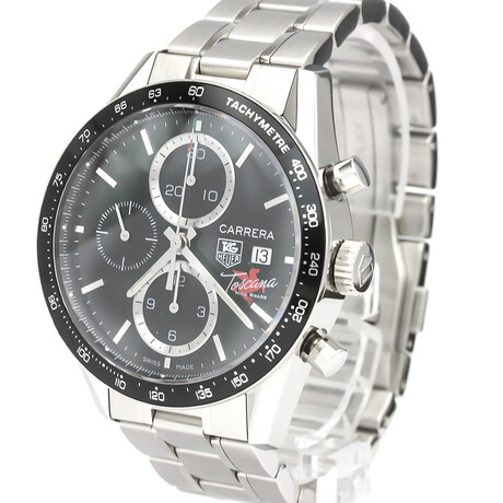 Tag Heuer Carrera Toscana Hill Roads Automatic // CV201Q // Pre-Owned