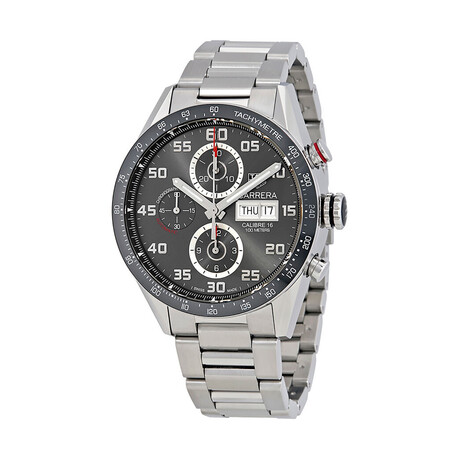 Tag Heuer Carrera Chronograph Anthracite Automatic // CV2A1U.BA0738 // Pre-Owned