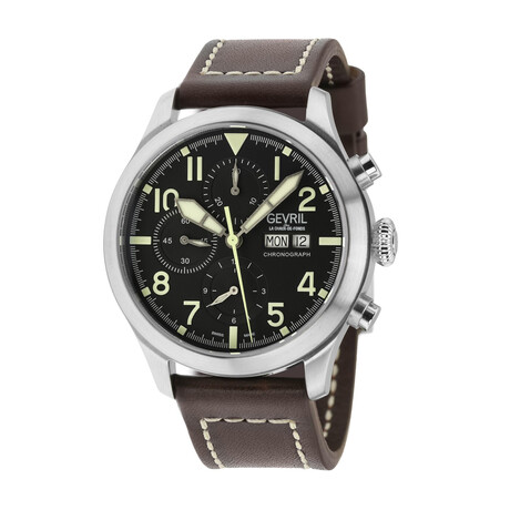 Gevril Vaughn Chronograph Swiss Automatic // 46108