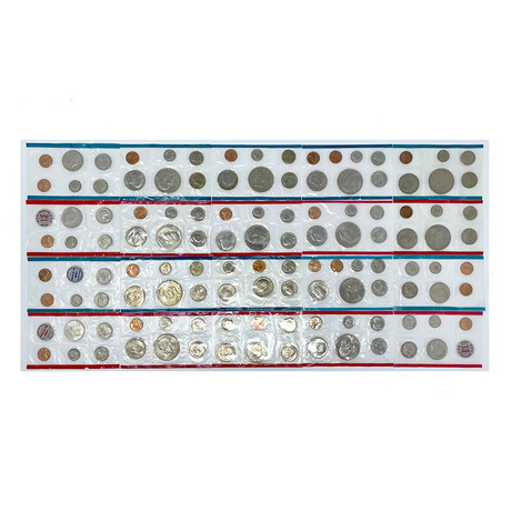 1970s U.S. Uncirculated Coin Sets // Decade Set (117 Coins)