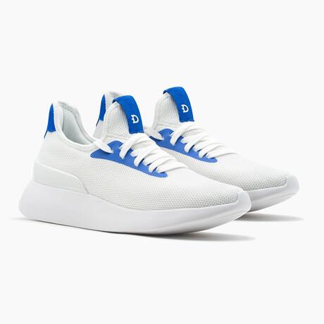 Duxs Runners // White + Blue (US: 6)