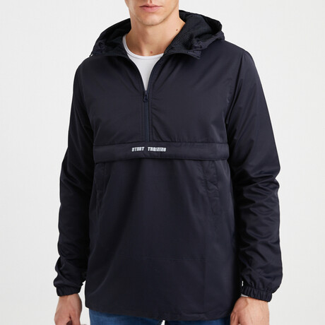 Mountain Track Jacket // Navy Blue (S)