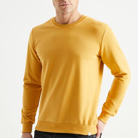 Hardal Sweatshirt // Mustard (S)