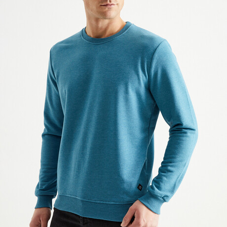Waucoba Sweatshirt // Petrol (S)
