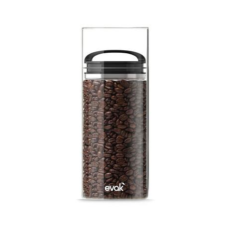 Evak Black Gloss Compact Handle // Large
