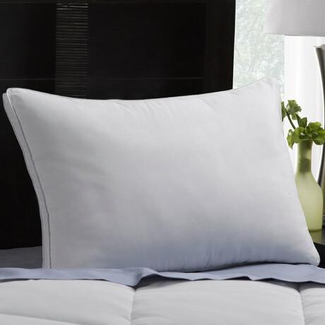 Gusseted Microfiber Gel Filled FIRM Pillow (Standard)