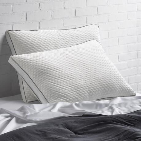 Arctic Chill Super Cooling Gel Fiber Pillow // Set of 2