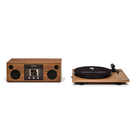 Musica Global Edition + Turntable Analog Bundle // Walnut
