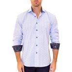 Jelle Long Sleeve Button Up Shirt // Blue (S)