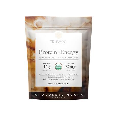 Protein + Energy Choco Mocha // 495g