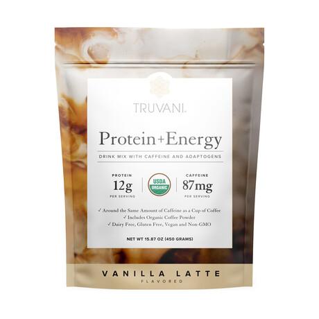 Protein + Energy Vanilla Latte // 450g